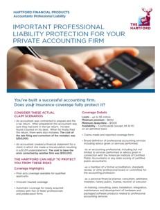 Accountants Professional Liability Insurance