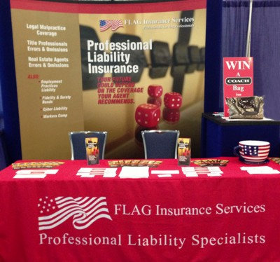 FLAG's exhibit at this year's Broward County Bar Convention